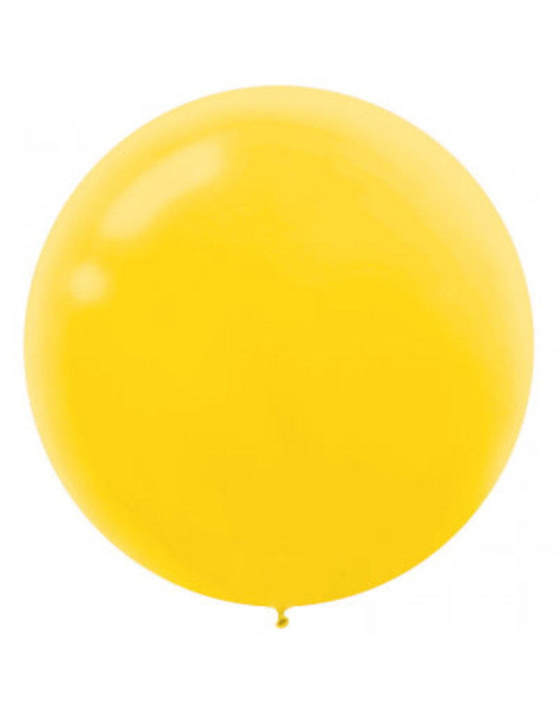 "24"" Yellow Balloon (With Helium)"