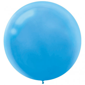 "24"" Powder Blue Balloon (With Helium)"