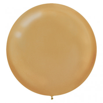 """24"""" Gold Balloon (With Helium)"""