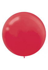 "24"" Apple Red Balloon (With Helium)"