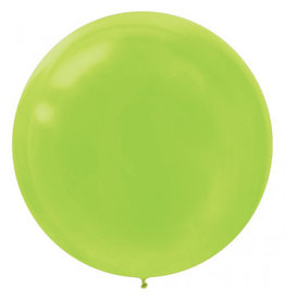 "24"" Kiwi Green Balloon (With Helium)"
