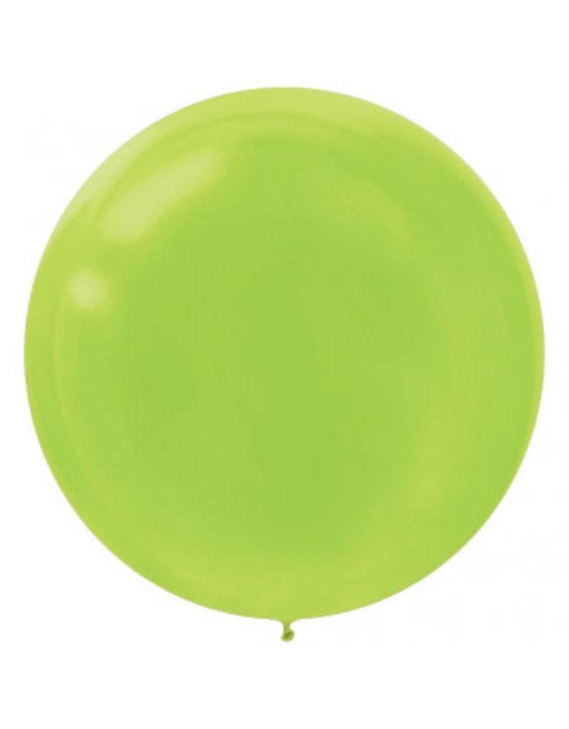 "24"" Kiwi Green Balloon (With Helium)"