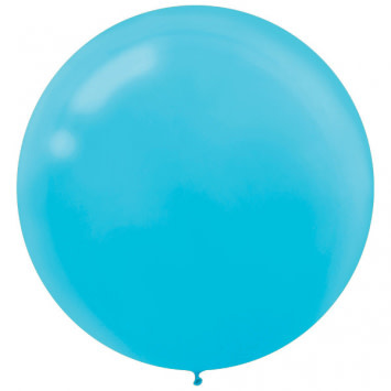 "24"" Caribbean Blue Balloon (With Helium)"