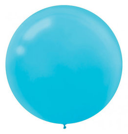 "24"" Caribbean Blue Balloon (With Helium)"