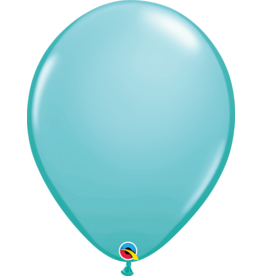 "16"" Caribbean Blue Balloon (Without Helium)"