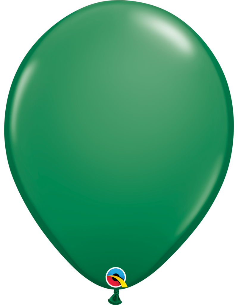"16"" Green Balloon (Without Helium)"