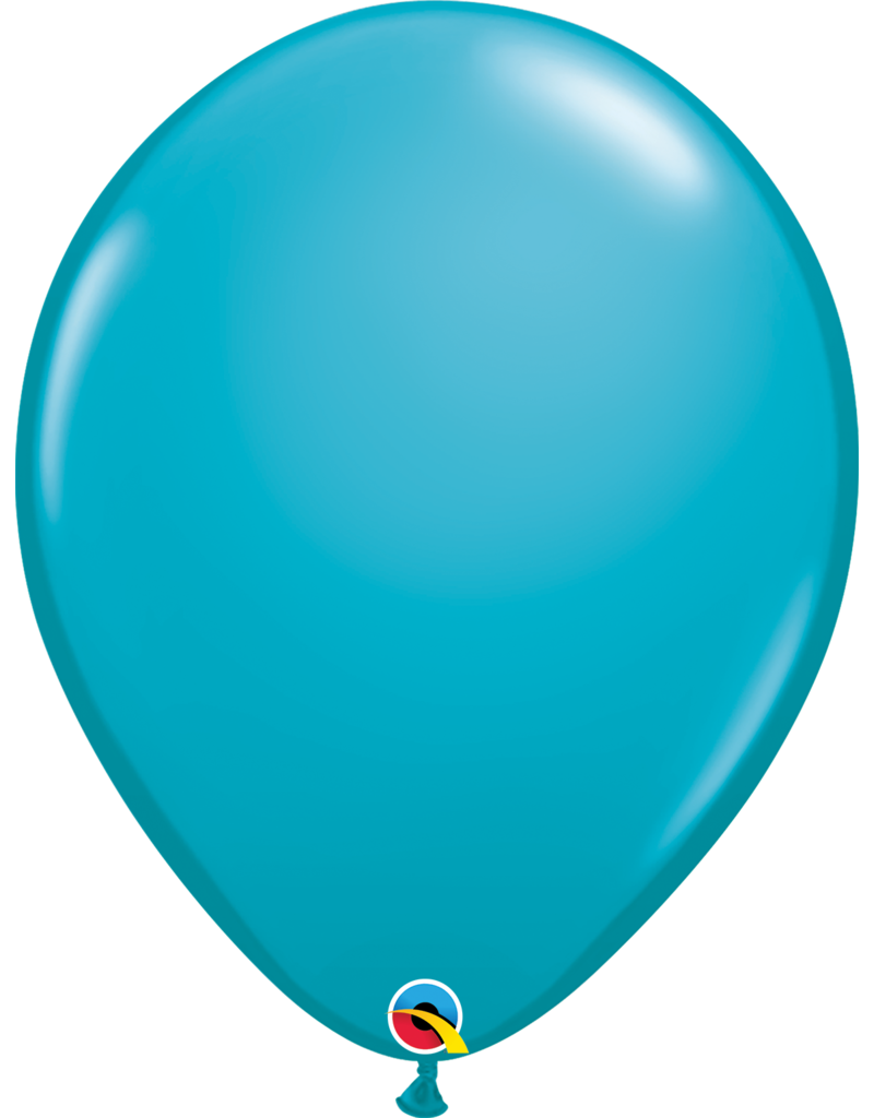 "16"" Tropical Teal Balloon (Without Helium)"