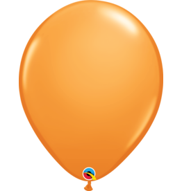 "16"" Orange Balloon (Without Helium)"