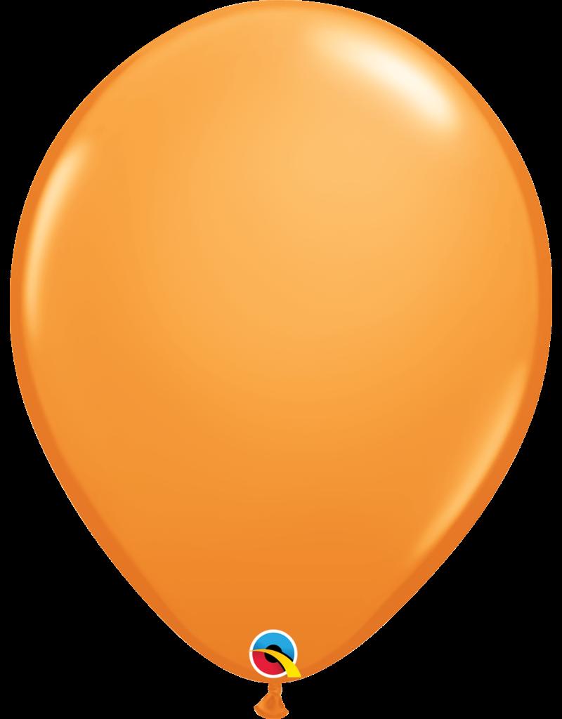"16"" Orange Balloon (Without Helium)"