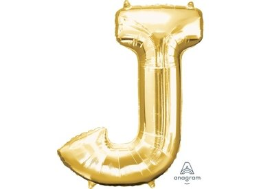 Gold Letters (With Helium)