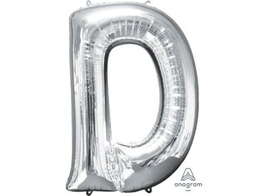 Silver Letters (With Helium)