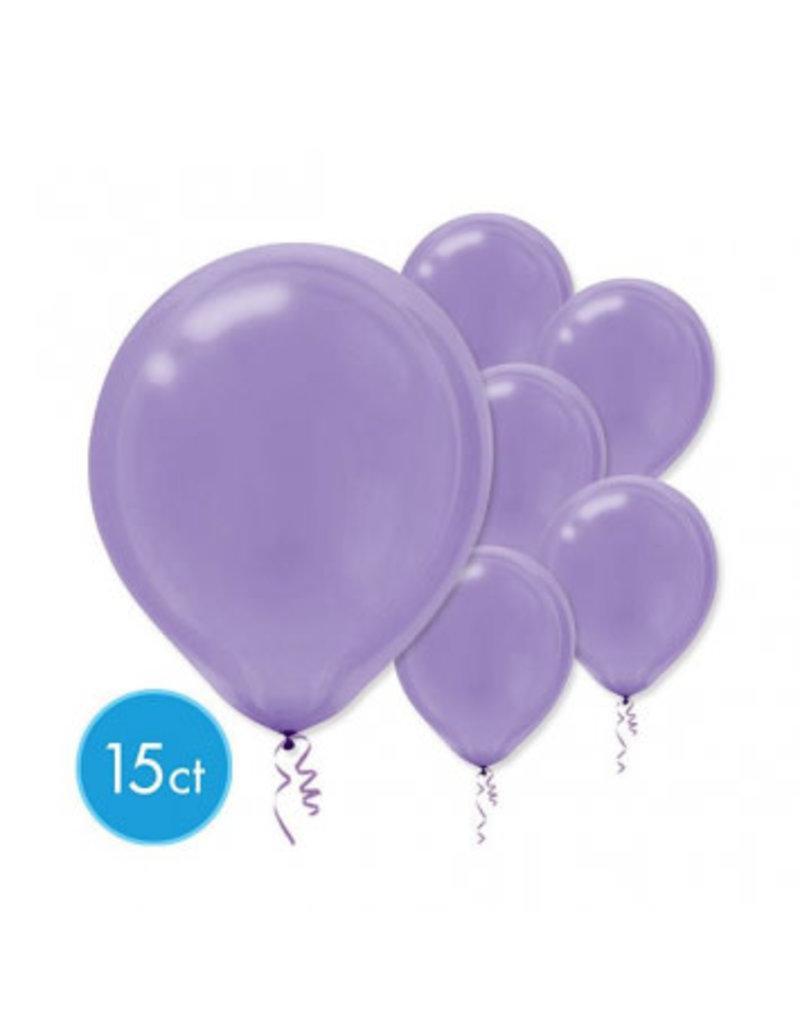 "New Purple 11"" Latex Balloons (15)"