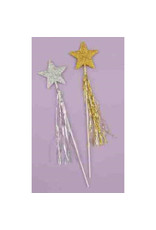 Gold Glitter Star Wand