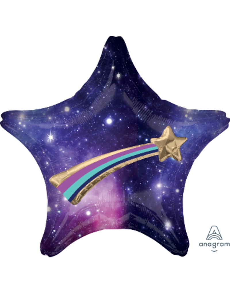 "Celestial Star 28"" Mylar Balloon"