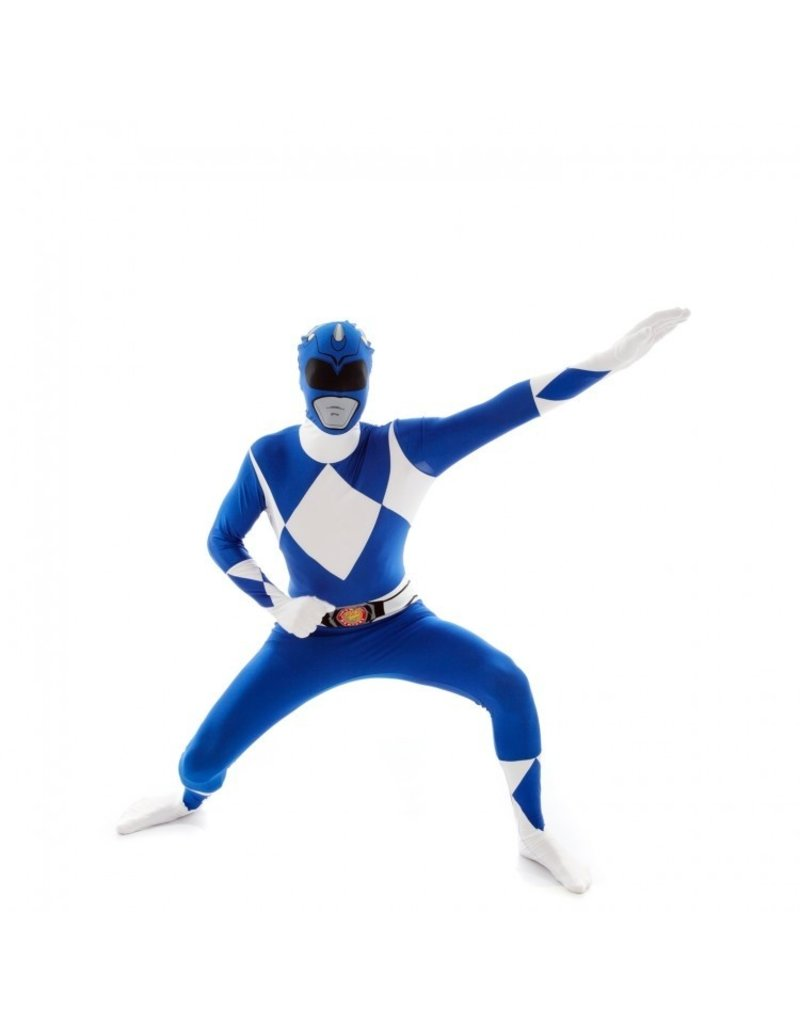 Morphsuit Blue Power Ranger Costume - XL