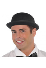 Felt Derby Black Hat