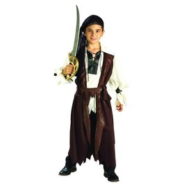 Child Caribbean Pirate Small (4-6) Costume