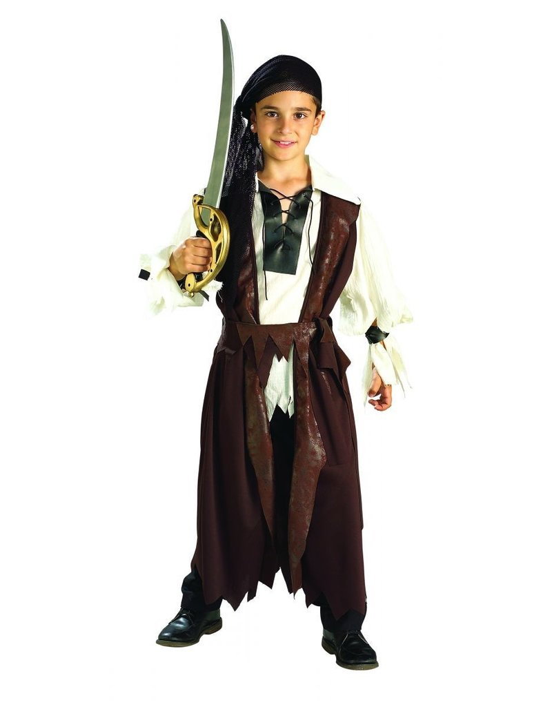 Child Caribbean Pirate Small (4-6) Costume