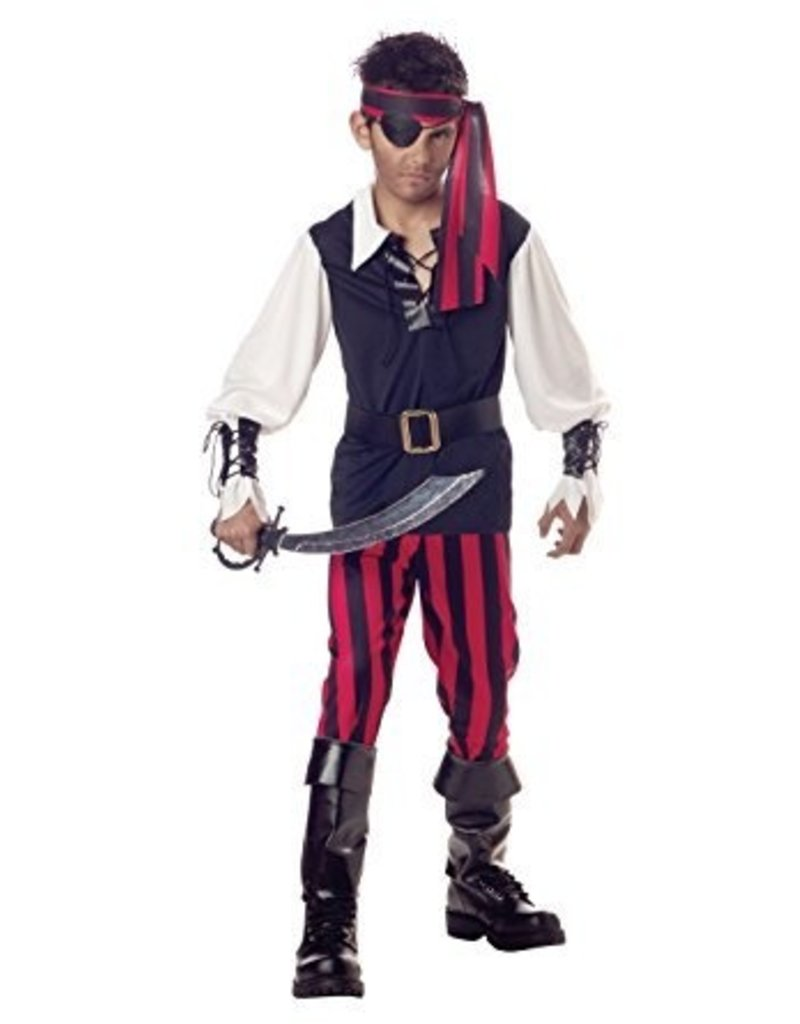 Child Cutthroat Pirate Medium (8-10) Costume