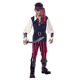 Child Cutthroat Pirate Small (4-6) Costume