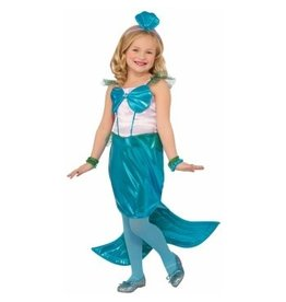 Child Aquaria The Mermaid - Small (4-6) Costume