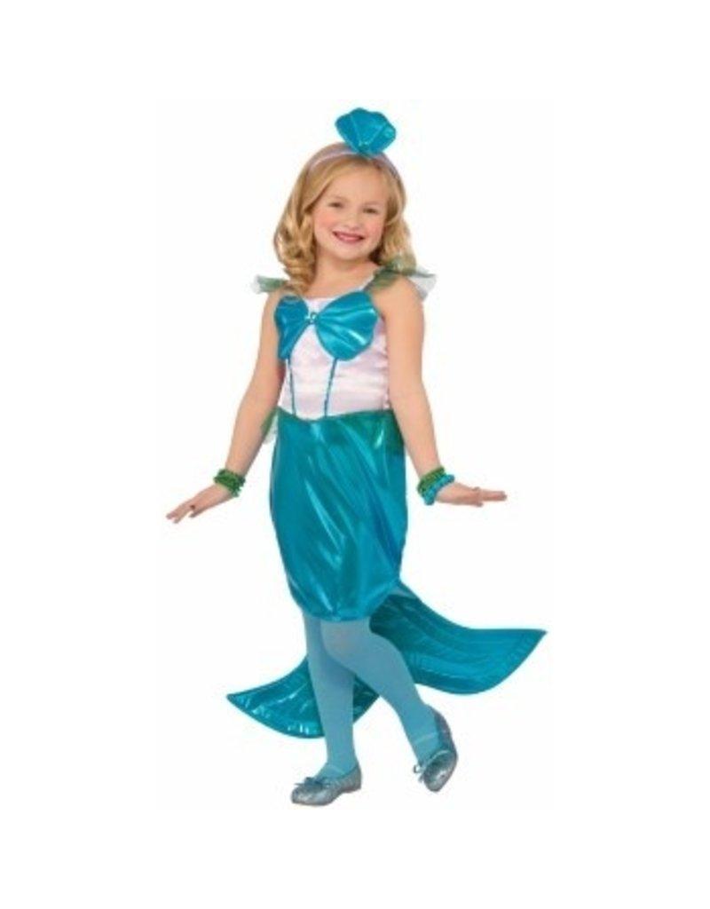 Child Aquaria The Mermaid - Small (4-6) Costume