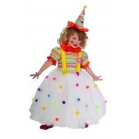 Child Candy Clown Medium (8-10) Costume