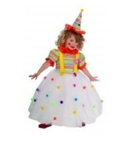 Child Candy Clown Small (4-6)