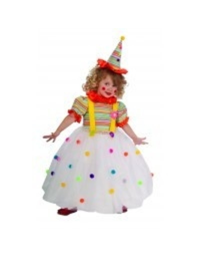 Child Candy Clown Small (4-6) Costume