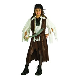 Child Caribbean Pirate Queen Large (12-14) Costume