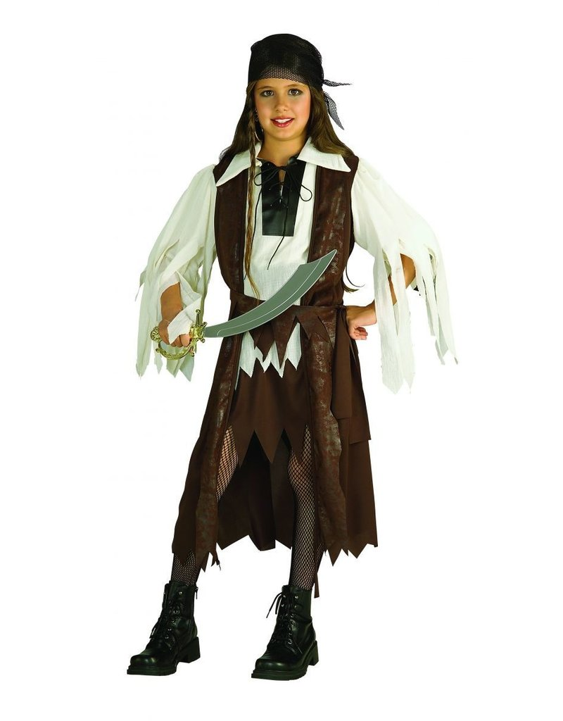 Child Caribbean Pirate Queen Small (4-6) Costume