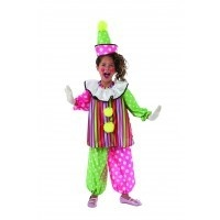 Child Clown Giggles Medium (8-10)