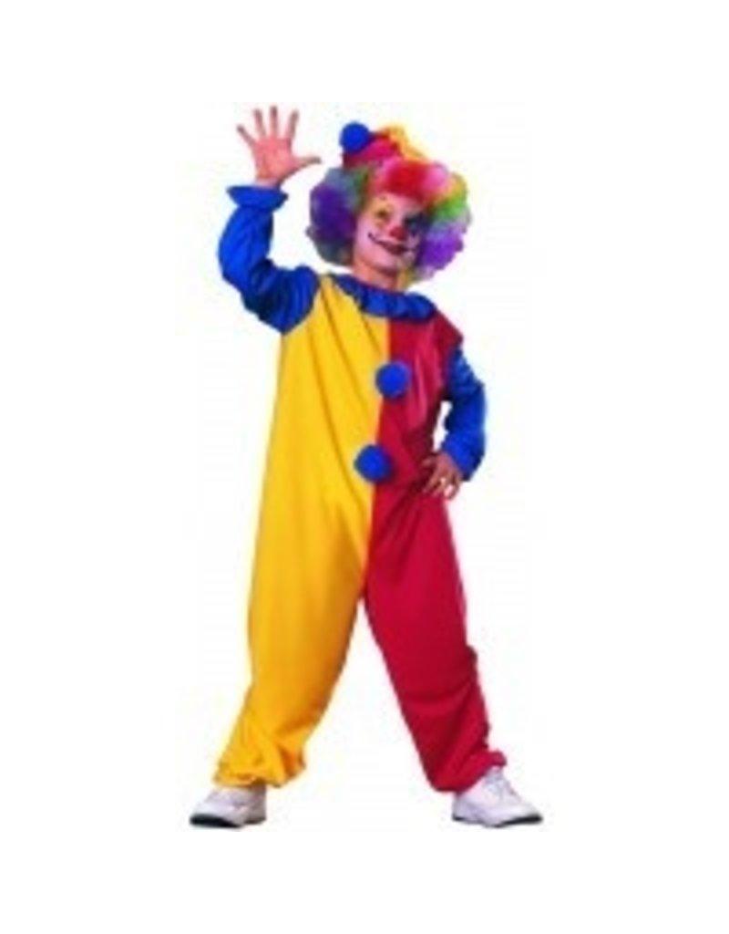 Child Clown Small (4-6) Costume