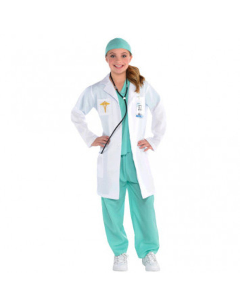Child Doctor Medium (8-10) Costume