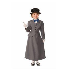 Child English Nanny Large (12-14) Costume