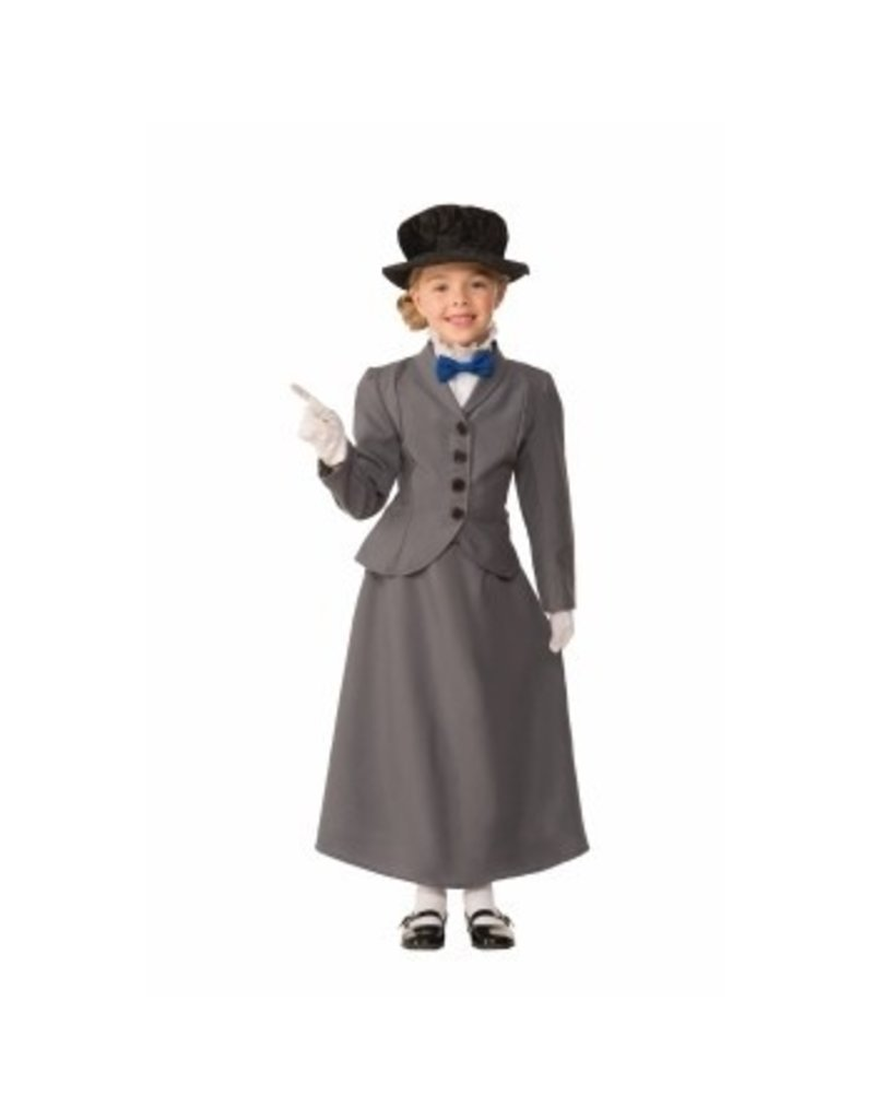 Child English Nanny Small (4-6) Costume