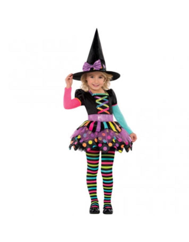 Child Miss Matched Witch Medium (8-10)