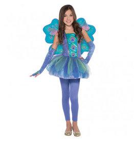 Child Peacock Princess Medium (8-10)