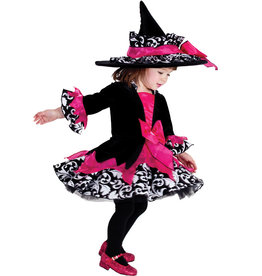 Child Pink Janie the Witch  Medium (8-10)