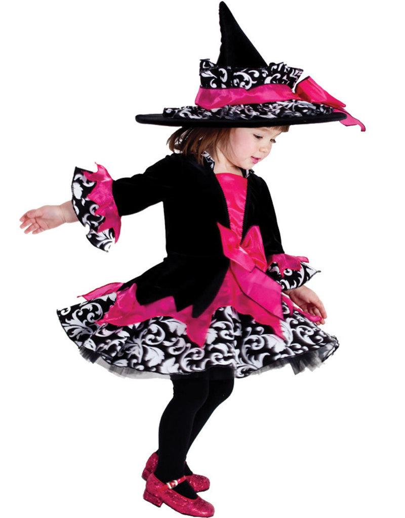 Child Pink Janie the Witch  Medium (8-10)