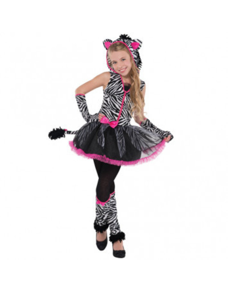 Child Sassy Stripes Medium (8-10)