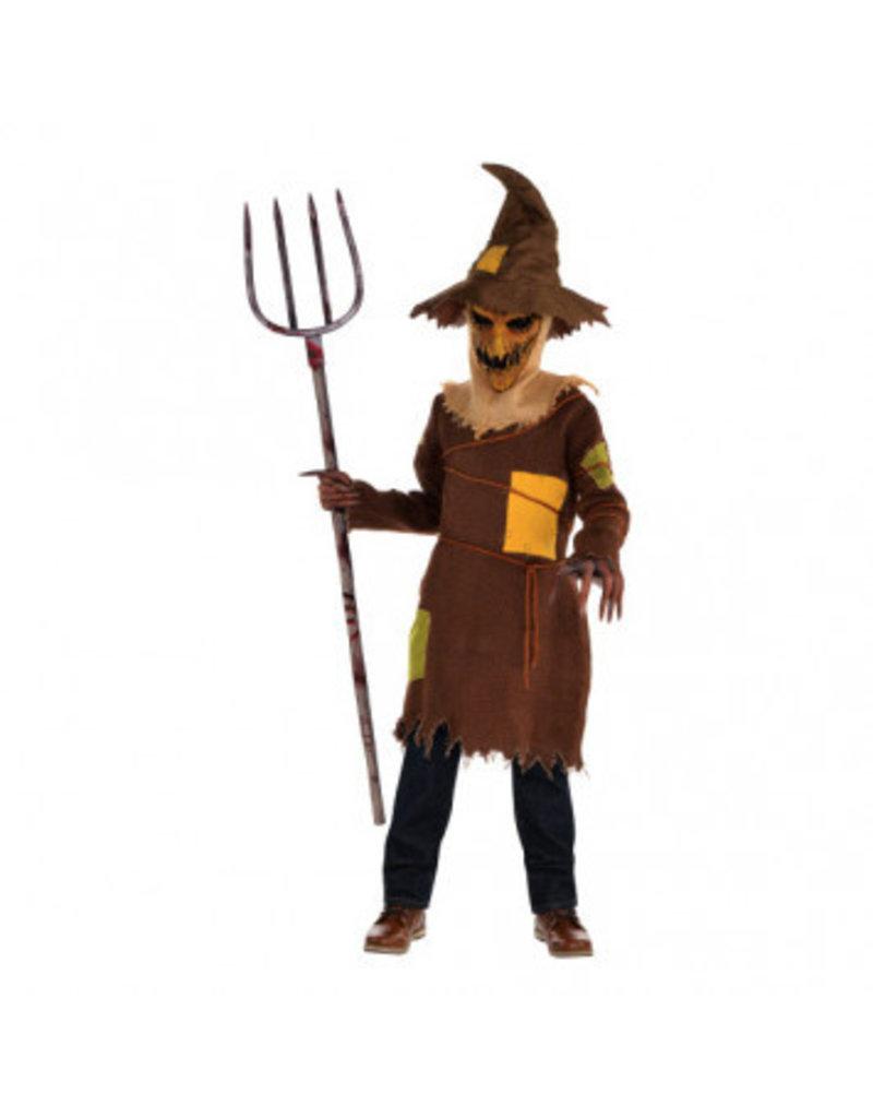 Child Scary Scarecrow Medium (8-10)