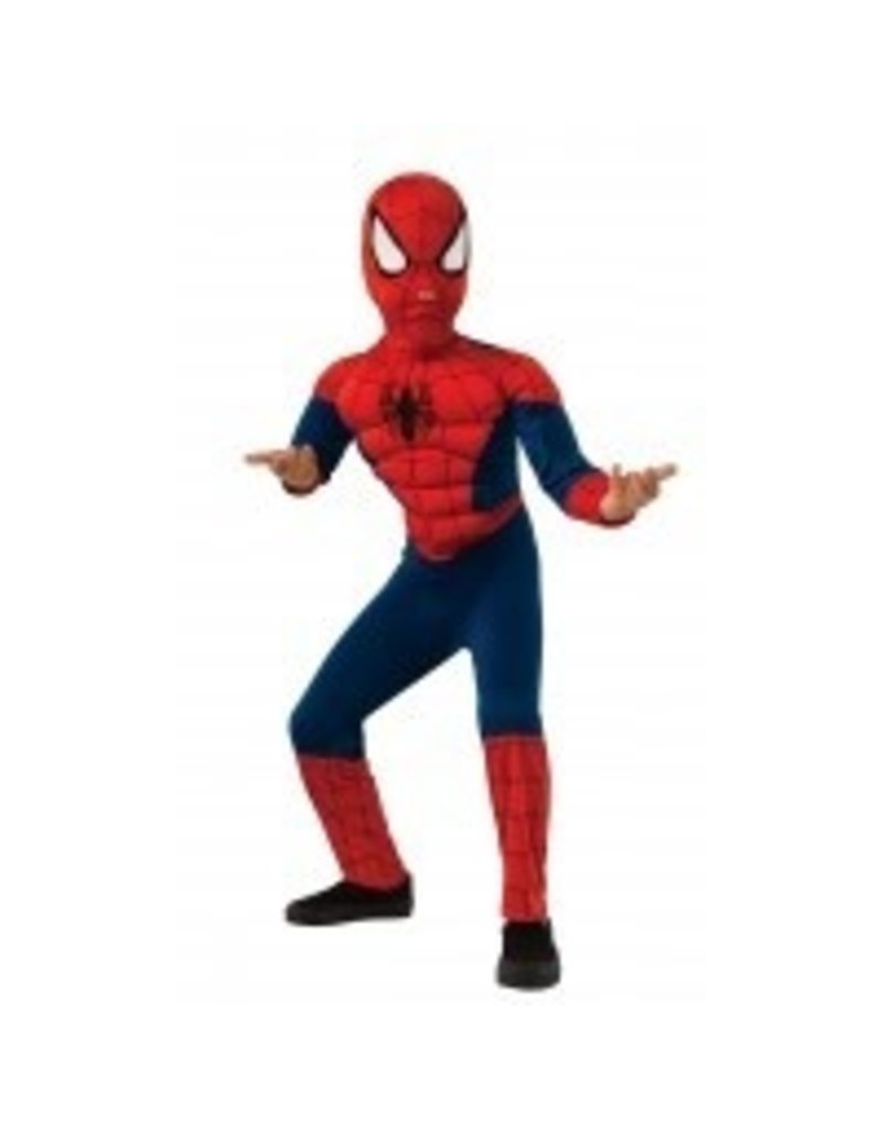 Child Spiderman Muscle Chest Small (4-6)