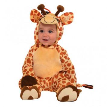 Infant Costume Junior Giraffe 0-6 Months
