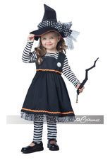 Toddler Costume Crafty Little Witch Large