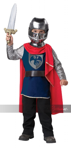 Toddler Costume Gallant Knight Large