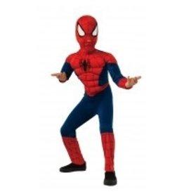 Child Spiderman Muscle Chest Medium (8-10)