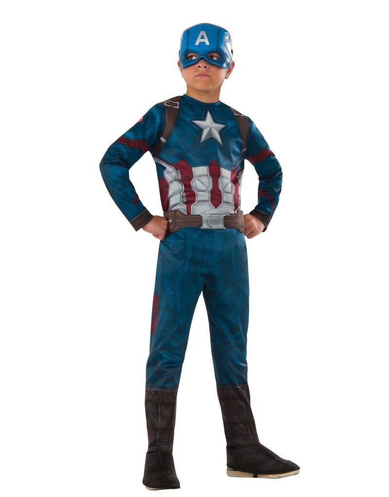 Child Captain America Large (12-14) Costume