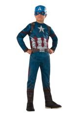Child Captain America Medium (8-10) Costume