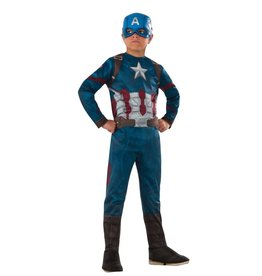 Child Captain America Small (4-6) Costume